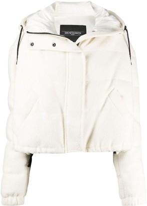 Simonetta Ravizza Cropped Hooded Puffer Jacket