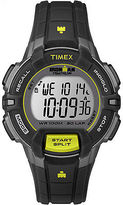 Timex Ironman Women's | Rugged 30 Mid-Size Black/Lime Watch T5K809