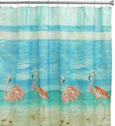 Bacova Guild Flamingo Shower Curtain