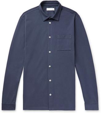Hamilton And Hare Travel Cotton-Pique Shirt
