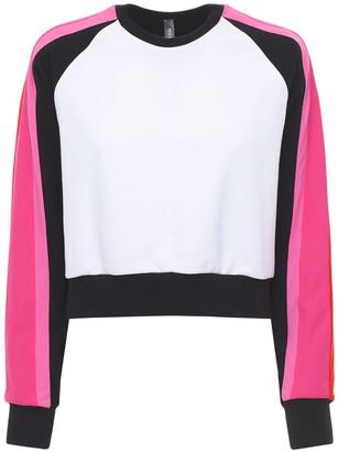 NO KA 'OI Reflecting Sunlight Crop Sweatshirt