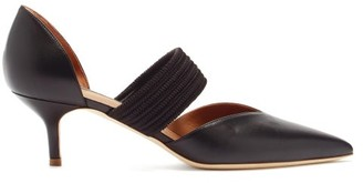 Malone Souliers Maisie Leather Kitten-heel Pumps - Black