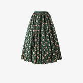 Ashish floral embroidered skirt