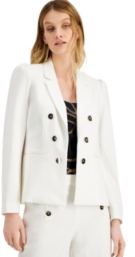 Bar III Open Front Jacket, Created for Macy's