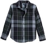 Tailor Vintage Reversible Flannel Jacket (Toddler & Little Boys)