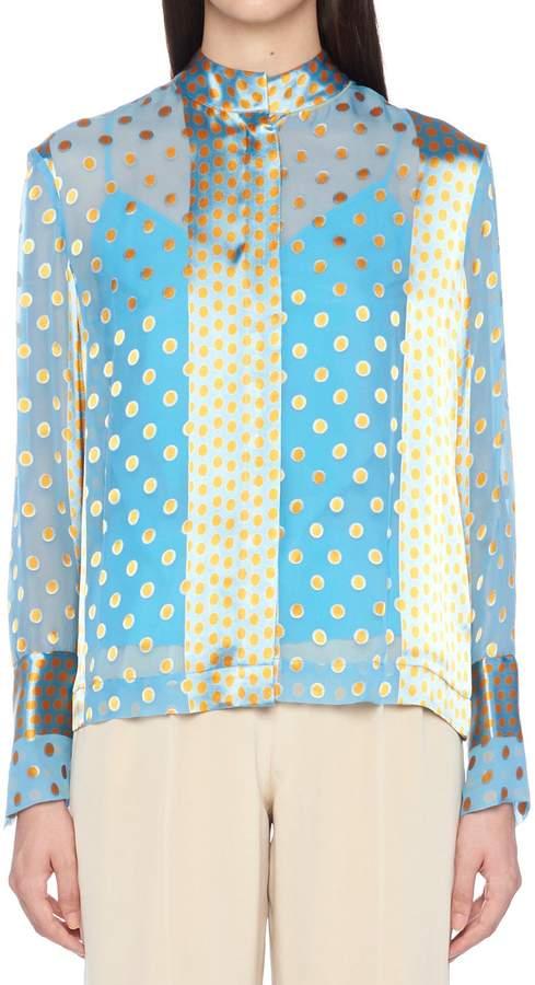 Diane von Furstenberg 'collared' Shirt
