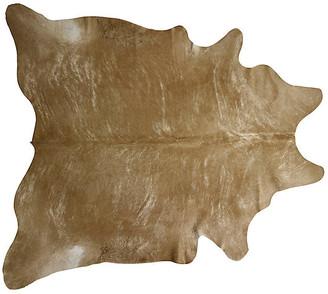 """Saddlemans Natural Hide - Beige/Brindle 6'x7'5"""""""
