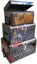 Star Wars 3-pc. Darth Vader & R2-D2 Flat Top Trunk Set