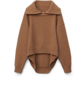 Collection Split Collar Pullover