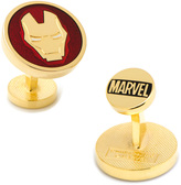 Marvel Gold-Plated Iron Man Cufflinks