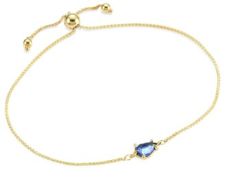 Ila Ahdra Edeli Blue Sapphire & 14K Yellow Gold Bracelet