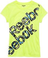 Reebok Bliss Short-Sleeve Logo Tee - Preschool Girls 4-6x