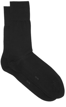 Falke Tiago City Cotton-blend Socks - Black