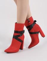 Public Desire Drift Sports Luxe Ankle Boots