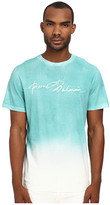 Pierre Balmain Watercolor Ombre Logo Tee