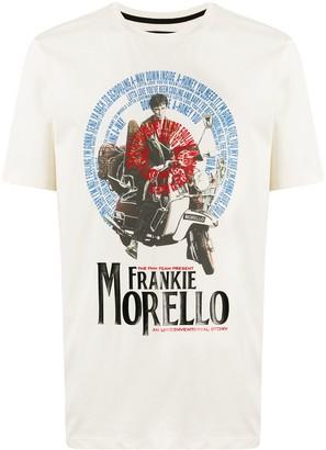 Frankie Morello graphic-print slim-fit T-shirt