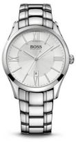 Hugo Boss 1513024 Stainless Steel Strap White Dial Ambassador Watch One Size Assorted-Pre-Pack