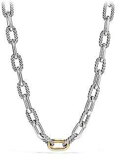 David Yurman Madison 18K Yellow Gold& Sterling Silver Necklace