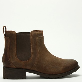 UGG Bonham II Chipmunk Leather Chelsea Boots