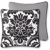 Rose Tree Symphony 18-Inch Square Throw Pillow in Black/White