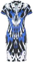 Just Cavalli printed fitted dress
