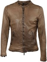 Giorgio Brato Brown Zipped Jacket