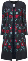 Oscar de la Renta embroidered coat