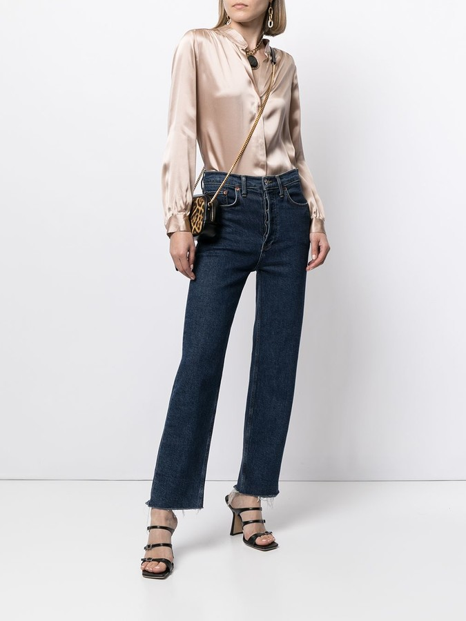Thumbnail for your product : L'Agence Bianca long-sleeve shirt
