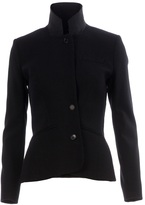 Yang Li stand-up collar jacket