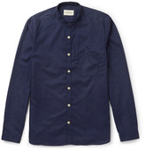 Oliver Spencer Grandad-collar Cotton Shirt