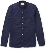 Oliver Spencer Grandad-Collar Cotton Shirt