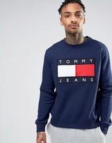 Tommy Jeans 90s Crew Sweatshirt in Navy