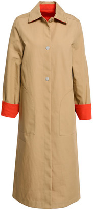 Maje Reversible Cotton Trench Coat