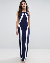 Paper Dolls Illusion Maxi Dress