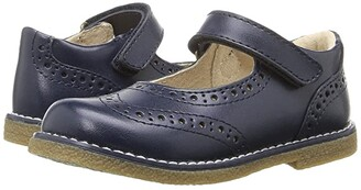 FootMates Lydia (Toddler/Little Kid) (Navy) Girl's Shoes