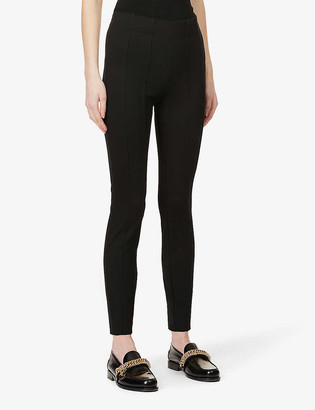 J Brand Dellah high-rise stretch-jersey leggings