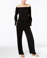 INC International Concepts Off-The-Shoulder Jumpsuit, Only at Macy's