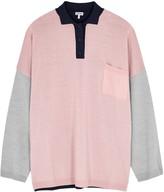 Loewe Colour-blocked Wool Jumper