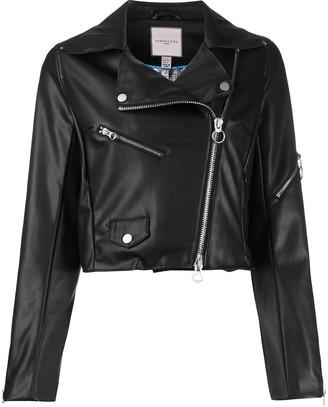 Urban Code Jacey faux-leather biker jacket