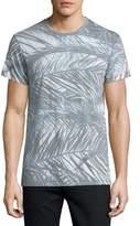 Sol Angeles Sea Palms Graphic T-Shirt, White Pattern