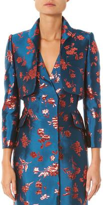 Carolina Herrera Silk-Blend Jacket