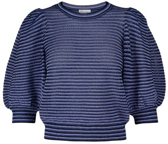 RED Valentino striped sweater