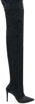 Balmain over-the-knee boots