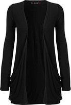 WearAll Women's Long Sleeve Pocket Cardigan - US 16-18 (UK 20-22)