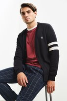 Fred Perry Tipped Sleeve Cardigan Sweater