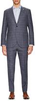 Lubiam Wool Plaid Notch Lapel Suit