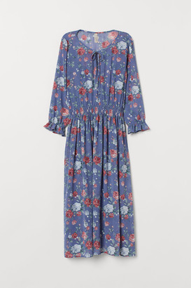 H&M Patterned Dress - Blue