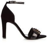 Erdem Helene velvet sandals