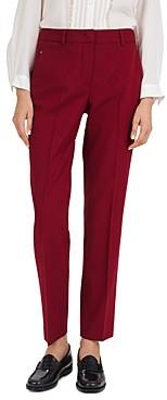 Gerard Darel Lova Wool-Blend Straight-Leg Pants