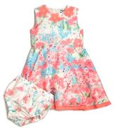 Hartstrings Baby's Floral Dress & Bloomers Set